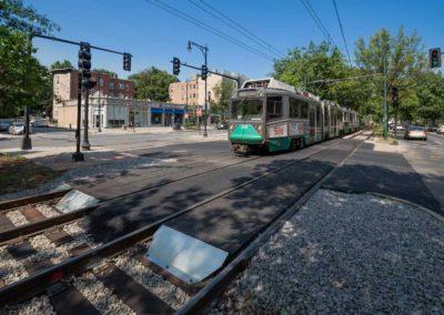 MBTA Green Line Grade Crossing Reconstruction