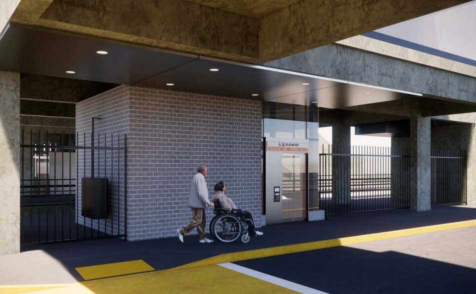 MBTA Oak Grove Station Accessibility Improvements
