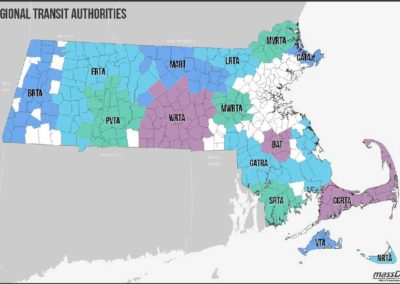 MassDOT Comprehensive Regional Transit Plans Update, Regional Transit Authorities