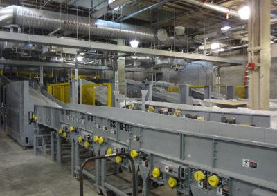 Massport Conveyor Installation C3 Bagroom