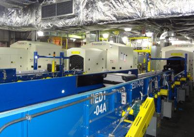 EDS Machine Installation