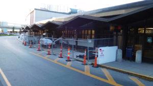 Massport Terminal C Door Construction