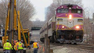 MBTA Fitchburg Construction Site