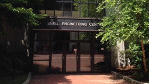 Snell Engineering Center Front Doors